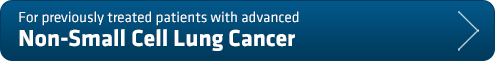 For previously treated patients with advanced Non-Small Cell Lung Cancer