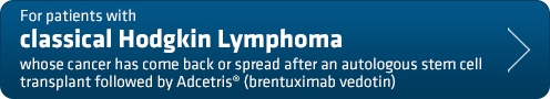 For adults with Classical Hodgkin Lymphoma